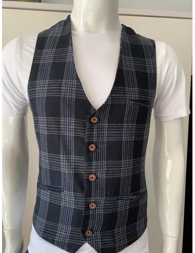 7682 checked vest